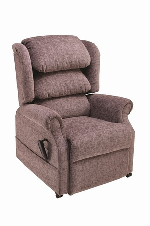 Ambassador Waterfall Back - Medium - Various Colours Chairs > Rise & Recline Chairs > Dual Motor