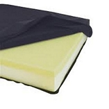 Wheelchair Cushion with Memory Foam Topper - 3 Sizes