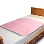 Washable Quick Dry Bed Pad Pink 85cmX90cm