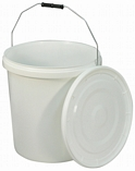 Commode Bucket and Lid for Norfolk Commode Chair - 20L