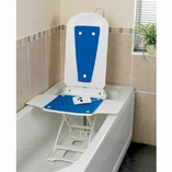 Bathmaster Deltis UK with Blue Covers